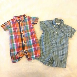 Boys Ralph Lauren Romper Bundle